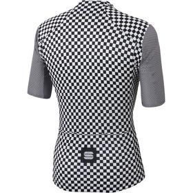 Sportful Checkmate Trikot Herren white black